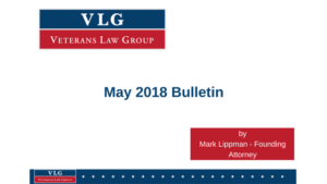 VLG Bulletin May 2018