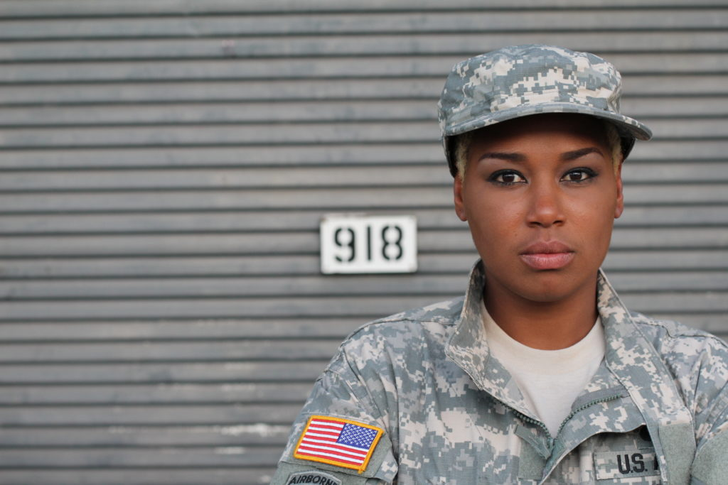 Female-Veteran-Severe-Back-injury-and-Your-VA-Disability-Rating-Concept